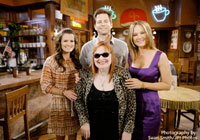 Diane visits the set of The Young and the Restless Set
